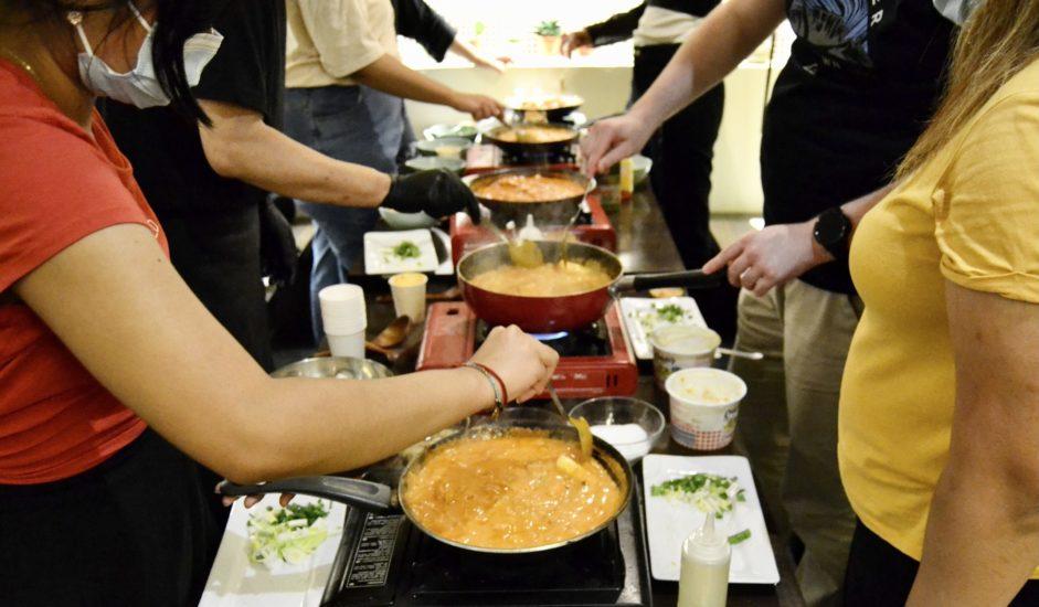 Cooking class BETWEEN X MAROU